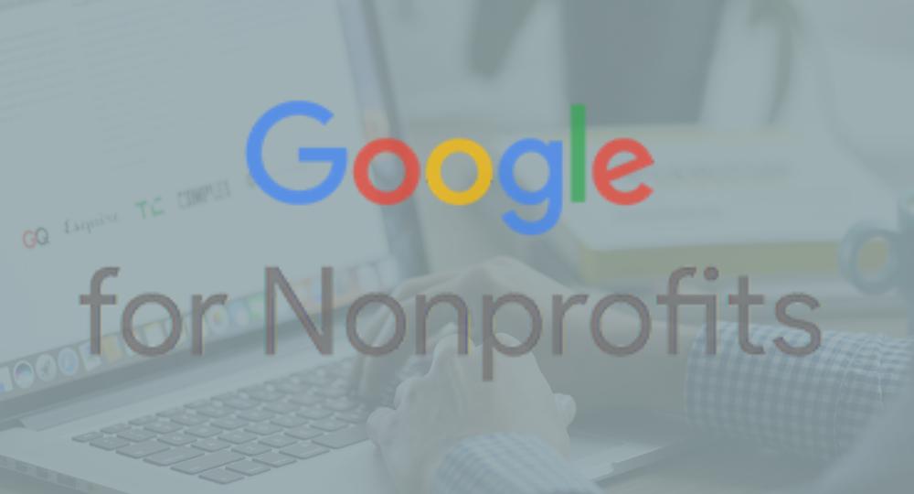 Google Ad grants for non profits