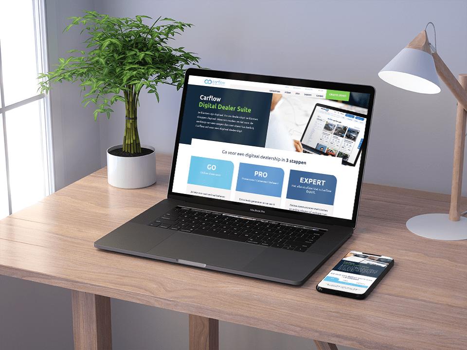 Web development - laptop